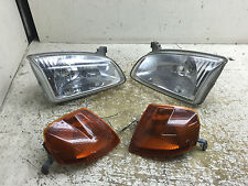 JDM TOYOTA STARLET EP91 GLASS HEADLIGHTS WITH AMBER WINKERS OEM