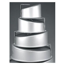 Fat Daddio's Round Topsy-Turvy Mad Dadder 4-Piece Cake Pan Set