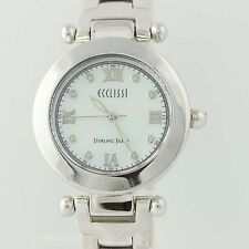 Ecclissi Ladies Watch - Sterling Silver Adjustable Length Quartz Movement 22340