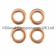 4 x Diesel Injector Washers / Seals for Renault Kangoo 1.5 DCI (DCS166)
