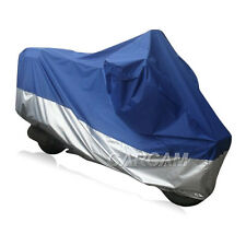 Silver/Blue Outdoor Motorcycle Cover For BMW R1200C Classic Bike ALL WEATHER XL