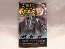 LORD OF THE RINGS CCG SIEGE OF GONDOR SEALED PACK OF 11 CARDS