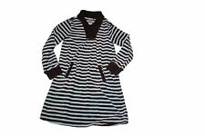 Gymboree Girls Best Friend Striped Brown Velour Fall Winter Dress Size 9
