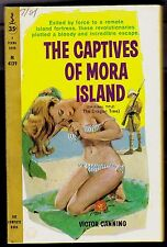 CAPTIVES OF MORA ISLAND, THE BY VICTOR CANNING  PERMABOOK EDITION # M4139