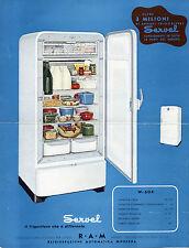 """Pubblicità WERBUNG - MILANO 1948 """" SERVEL il frigorifero che è differente """""""