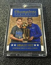STEPHEN CURRY 2015-16 PANINI NBA HOOPS CHAMPIONS PORTRAITS /99 SP GOLDEN STATE