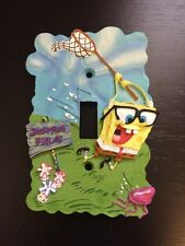 Borders Unlimited Switch Plate Cover SPONGEBOB SQUAREPANTS 3D colors