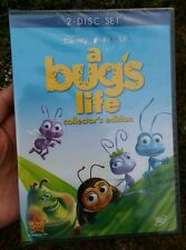 Disney PIXAR A Bug's Life DVD 2-Disc Set Collector's Edition Brand New Sealed
