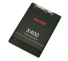 "SanDisk X400 128GB SSD | 6 Gb/s SATA 3 | 2.5"" (7 mm) cased 