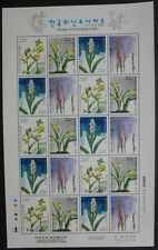 KOREA SOUTH 2005 Orchideen Orchids Blumen Flowers V 2490-2493 Kleinbogen ** MNH