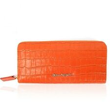Italy Nicoli fizio NF1004OR Lady Women Clutch Genuine Leather Long Wallet