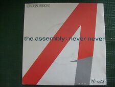 The Assembly - Never Never - disque 45 T