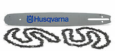 "husqvarna 16"" chainsaw bar and 2 chains"