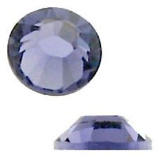 Swarovski Crystal Flatback SS12 Tanzanite Color 3mm. Approx.144 PCS. 2058