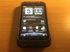 HTC Wildfire S - Black (Orange) Smartphone