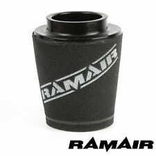 RAMAIR INDUCTION FOAM CONE AIR FILTER UNIVERSAL 70mm OFFSET NECK - 125mm TALL