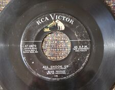 RARE Elvis Presley  SILVER LINE  All Shook Up original 45 RCA 6870 LAST ONE !!!