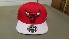 new chicago bulls official NBA 2015 draft snapback baseball cap