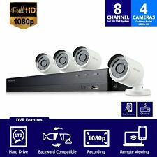 SDH-B74041 - Samsung 8 Channel 1080p HD 1TB Security System with 4 Cameras