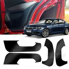 Carbon Door Decal Sticker Cover Kick Protector for BMW 2010 - 2015 5 Series F10