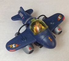 2010 Fisher-Price Imaginext Sky Racers Twister Jet Plane w/ Action Figure