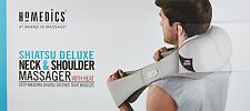 Homedics Shiatsu Deluxe Neck & Shoulder Massager with Heat NMS-620H-GB - New
