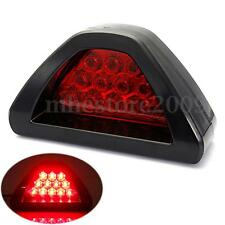 Universal F1 Style 12LED Rear Tail Third Brake Stop Light Strobe Safety Fog Lamp