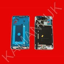 Silver Front LCD Frame Metal Housing Middle Bezel Samsung Galaxy Note 3 N9005