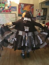Wodden Patchwork Sweatercoat Size M Katwise Inspired