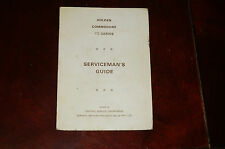 GMH Holden VB Commodore Servicemans Guide. V8 4.2 5.0 litre RARE