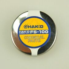 1PCS New White light (HAKKO) tip polisher chemical paste FS-100 #A82L LW