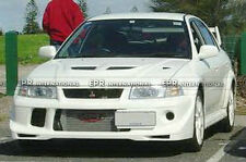 Pop Front Bumper Lip Splitter For Mitsubishi EVO 6 Tomy Makine-Type Carbon Fiber