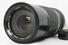Canon New FD 70-150mm f4.5 Manual Telephoto Lens Excellent from Japan
