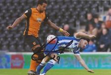 BRIGHTON: RICHIE TOWELL SIGNED 6x4 ACTION PHOTO+COA