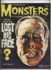 Famous Monsters of Filmland Magazine #16 Classic Lon Chaney cvr Frankenstein