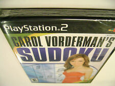 Carol Vorderman's Sudoku (Sony PlayStation 2) BRAND NEW FACTORY SEALED