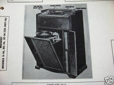 MIDWEST S-16,ST-16,SG- RADIO-PHONOGRAPH COMBO PHOTOFACT