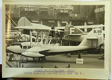 AVION AMPHIBIE BLERIOT BL 290 Photo originale G. DEVRED (Agence ROL) 1932