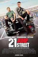 """21 JUMP STREET Movie Poster [Licensed-NEW-USA] 27x40"""" Theater Size Hill, Tatum B"""