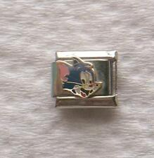 """TOM CAT""""-ITALIAN 9MM CHARM- TOM-N-JERRY, KIDS SHOW, CAT AND MOUSE"""