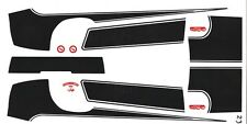 1970 CAMARO 454 Special Stripes 1/32nd Scale Slot Car Waterslide Decals