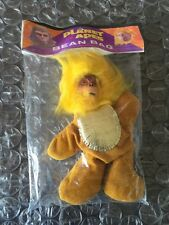 """1967 PLANET OF THE APES SEALED DR. ZAIUS BEAN BAG TOY 12"""" MISP SUPER RARE CARDED"""