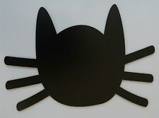 CHALKBOARD BLACKBOARD MAGNETIC FRIDGE MEMO BOARD CAT