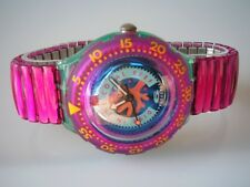"SWATCH SCUBA-FLEX ""CHERRY DROPS"" +NEU+ -L- EIN TRAUM IN PINK"