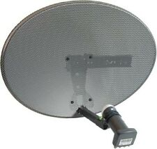 Zone 2 60cm Sky Satellite Dish With Quad LNB