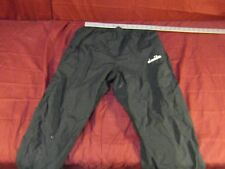 Vintage Diadora Track Pants Retro Mens size M Soccer Lined Black ~ NM 13651