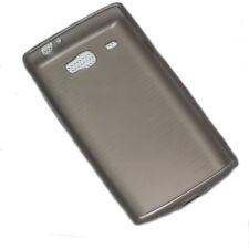 SILICONE TPU COVER CASE CELLULARE cappuccio in Smoke per Samsung i8350 Omnia W