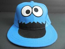 "Cookie Monster Baseball Cap Sesame Street Muppets Hat 20"" Child Size Small Blue"