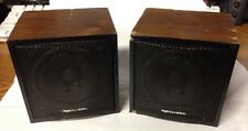 Vintage Realistic Minimus 0.3 Bookshelf Speaker Radio Shack  40-1250A (Korea)