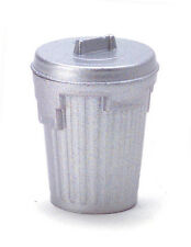 Garbage Can / Dustbin / Rubbish Bin, Miniature Dolls House Removeable Lid